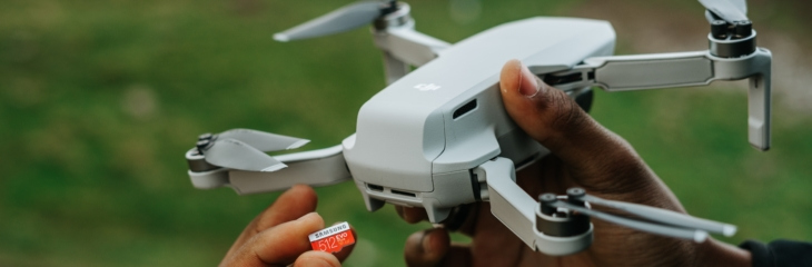 Choosing the right MicroSD card for Drone