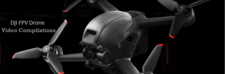 DJI's FPV Drone videos all over the Internet